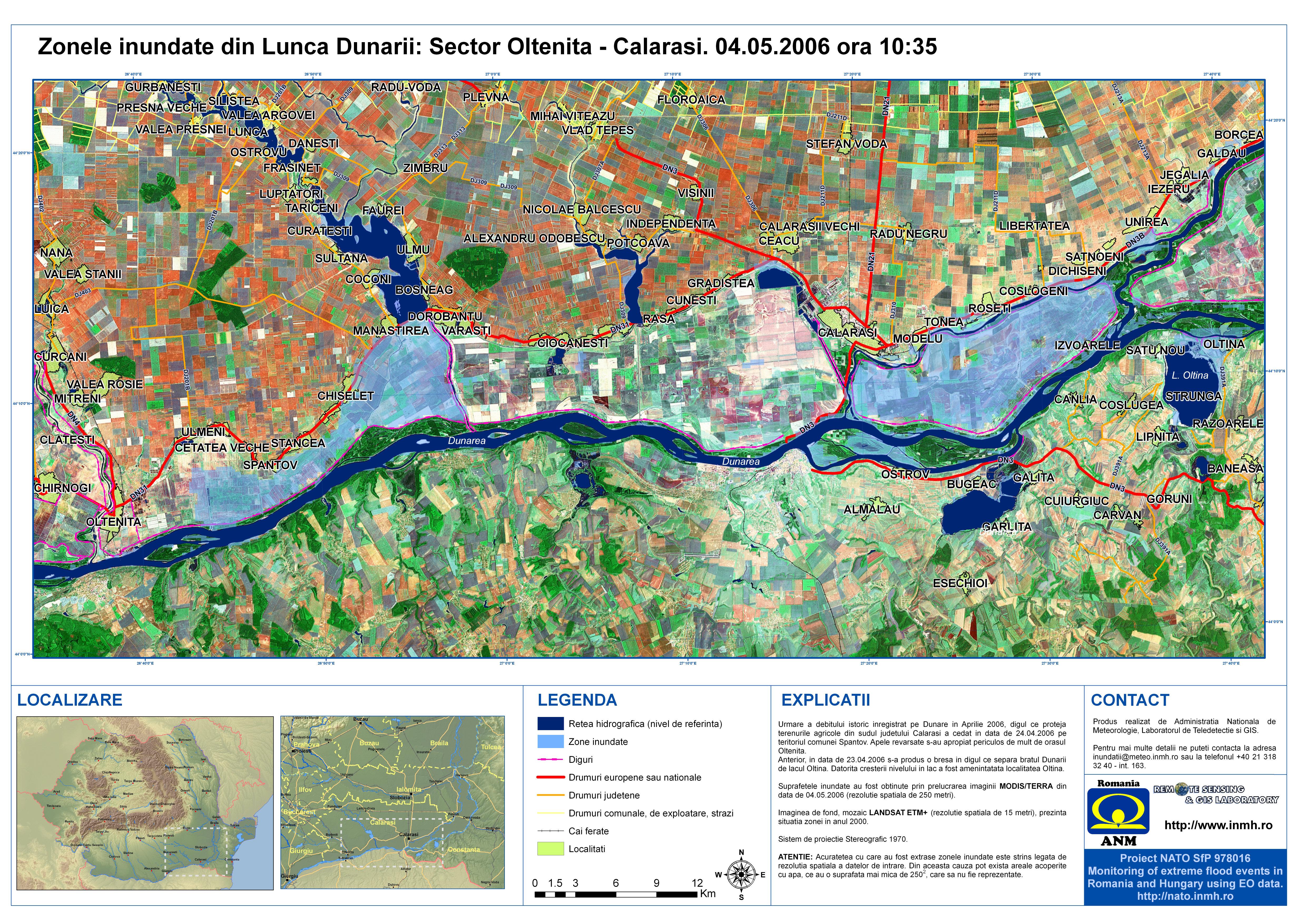 Inundatii Lunca Dunarii 2006